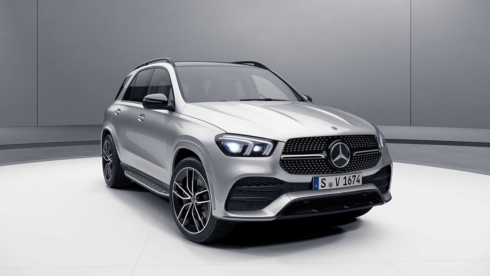 Mercedes Benz Gle Night Package