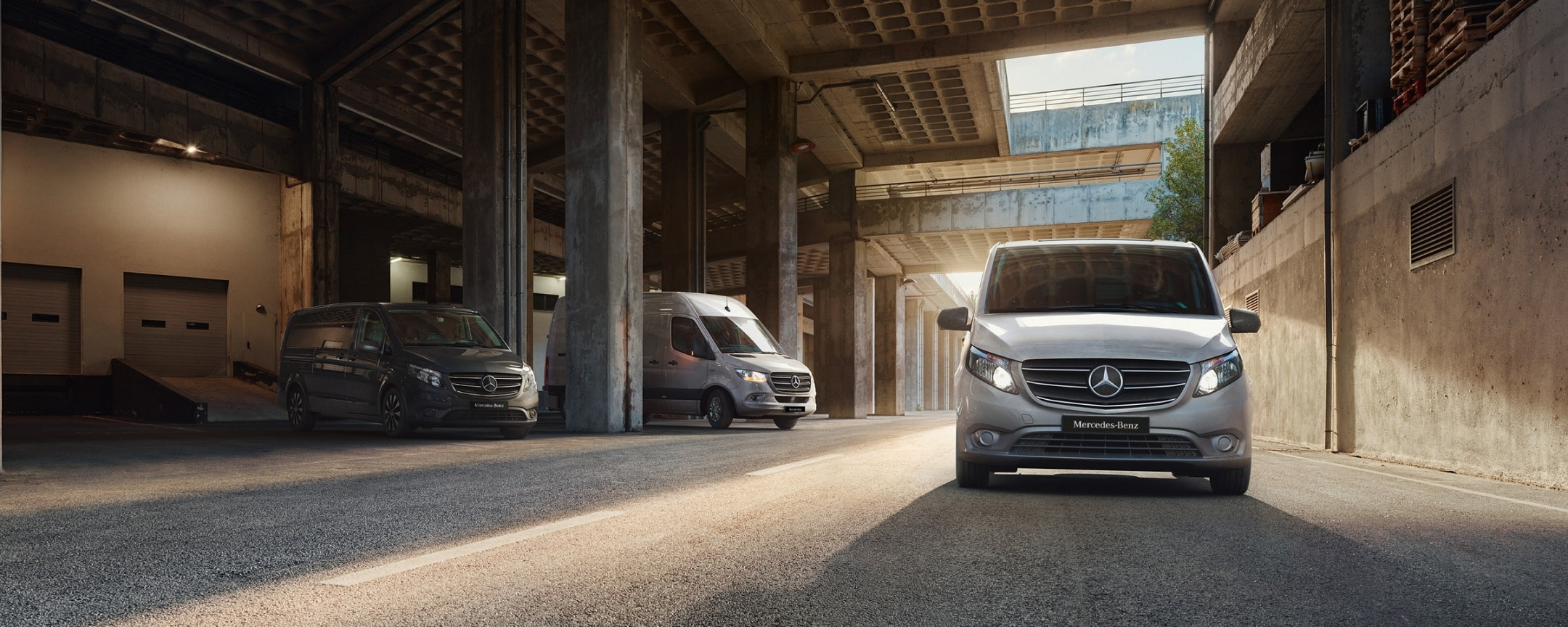 Mercedes-Benz Range with the Sprinter, Citan and Vito