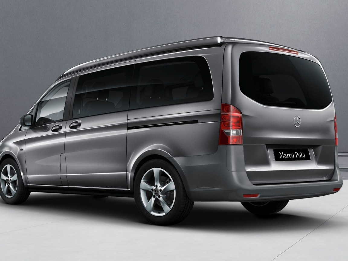 Marco Polo ACTIVITY, tinted glazing in the rear, black
