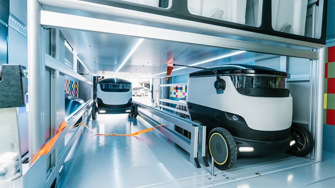 Vans, Love your work, Future of delivery, Sprinter, Robots , Starship technology