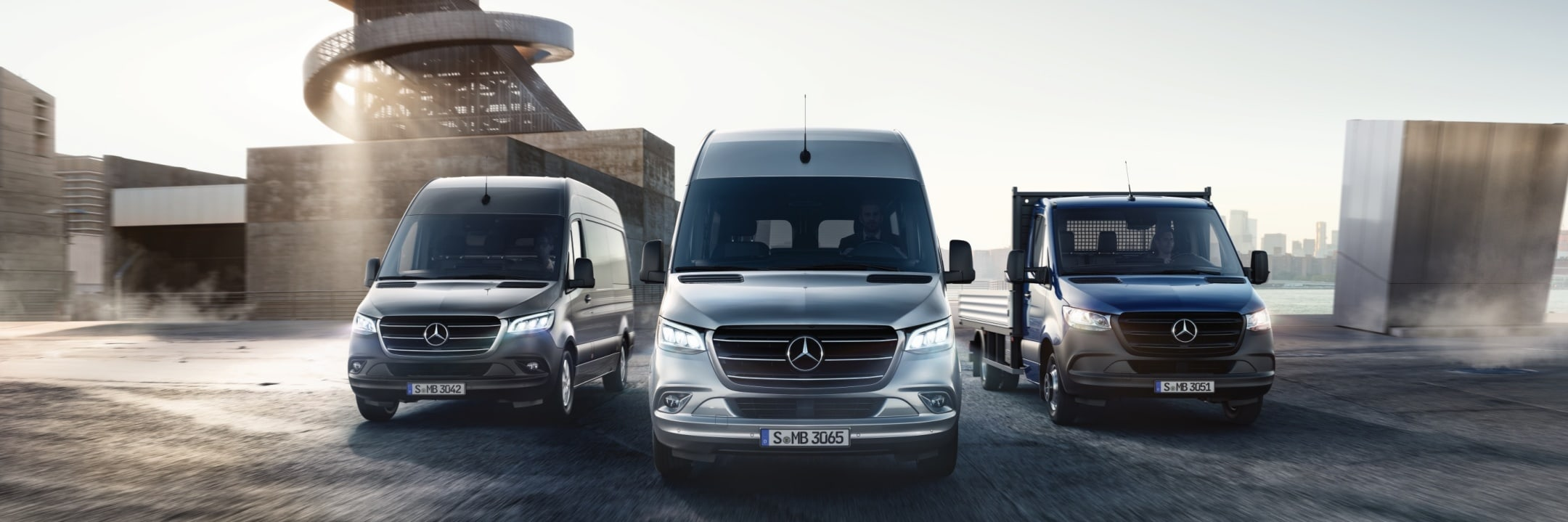 Mercedes-Benz Vans model overview