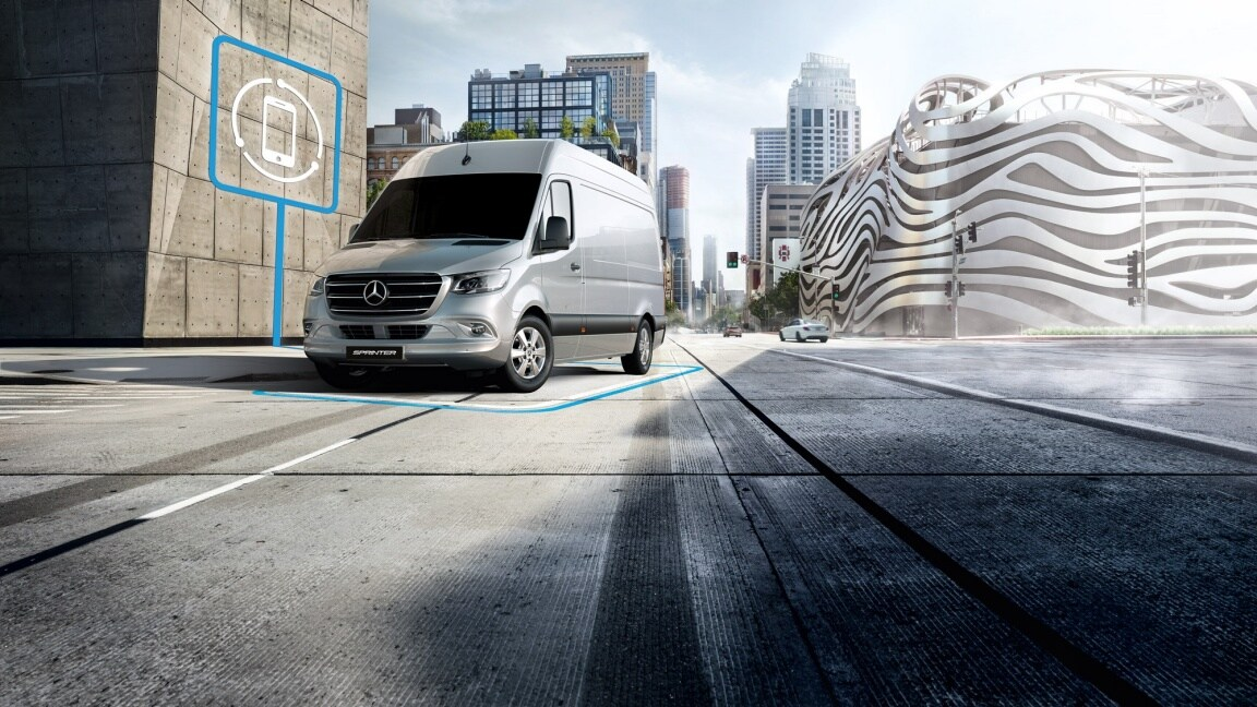 Sprinter Cab Chassis, voice assistant