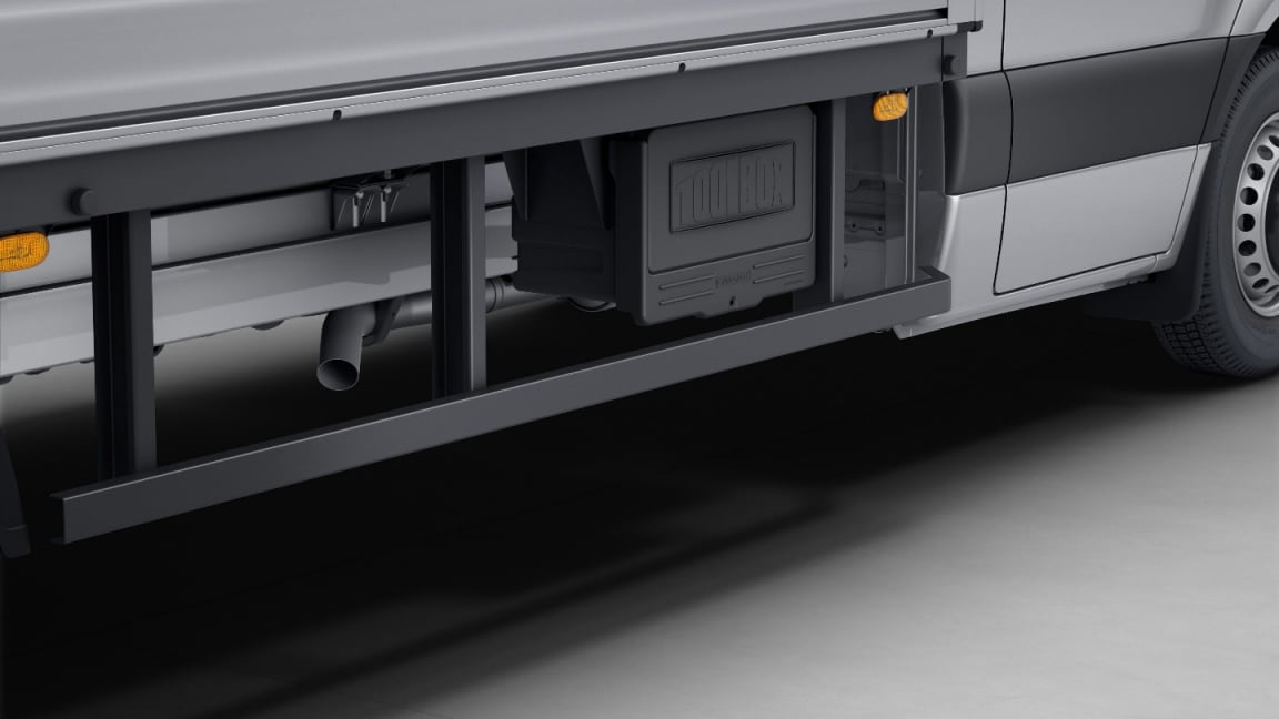 Sprinter Cab Chassis, storage