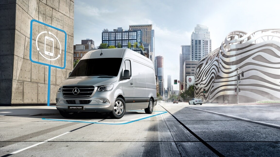 Sprinter Panel Van, voice assistant