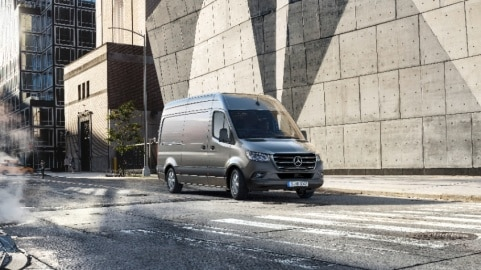 Sprinter Panel Van | Mercedes-Benz Vans