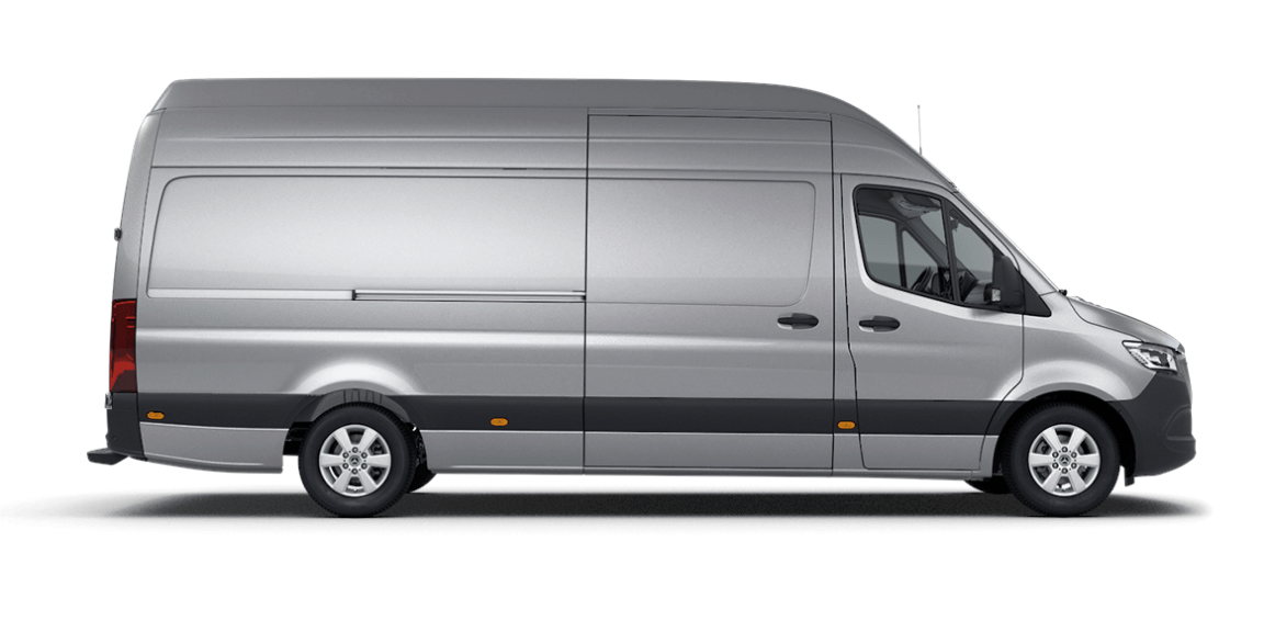 Sprinter Panel Van, super-high roof, 4325-mm wheelbase, 1615-mm overhang
