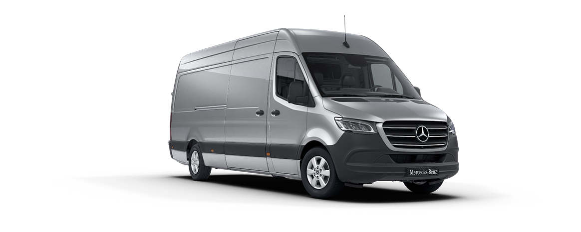 Sprinter Panel Van, iridium silver