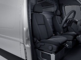 Sprinter Panel Van, ergonomic driver's seat
