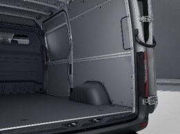 Sprinter Panel Van, plastic flooring