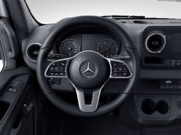 Sprinter Panel Van, multifunction steering wheel