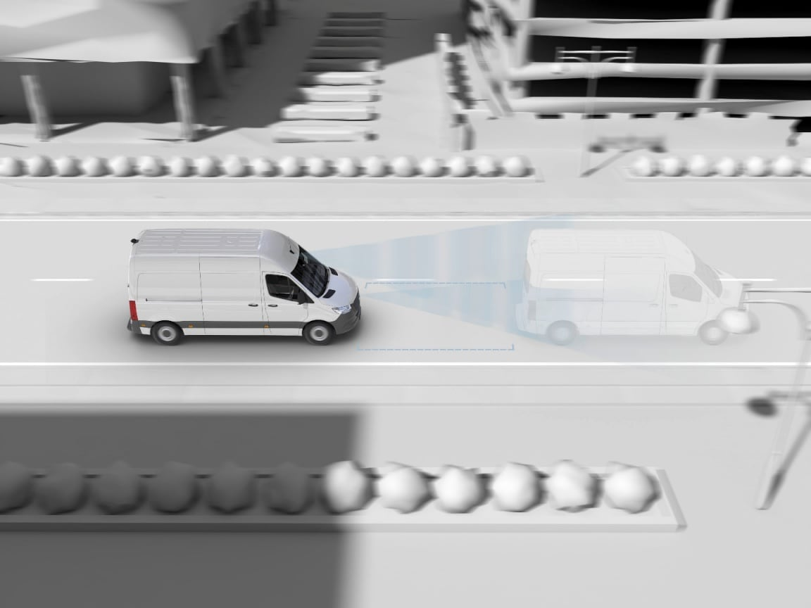 Sprinter Panel Van, active breaking assist