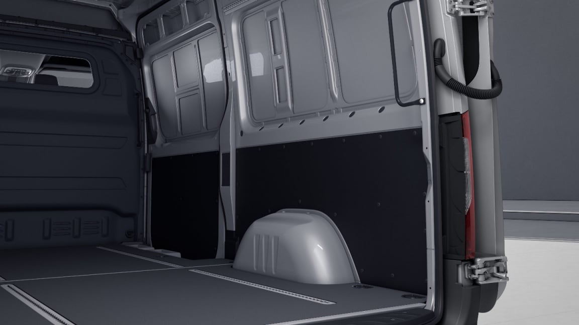 Sprinter Panel Van, cargo compartment