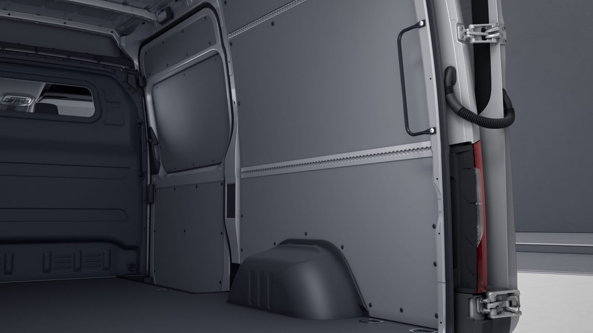 Sprinter Panel Van, interior panelling