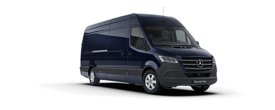 Sprinter Transfer Minibus, cavansite blue
