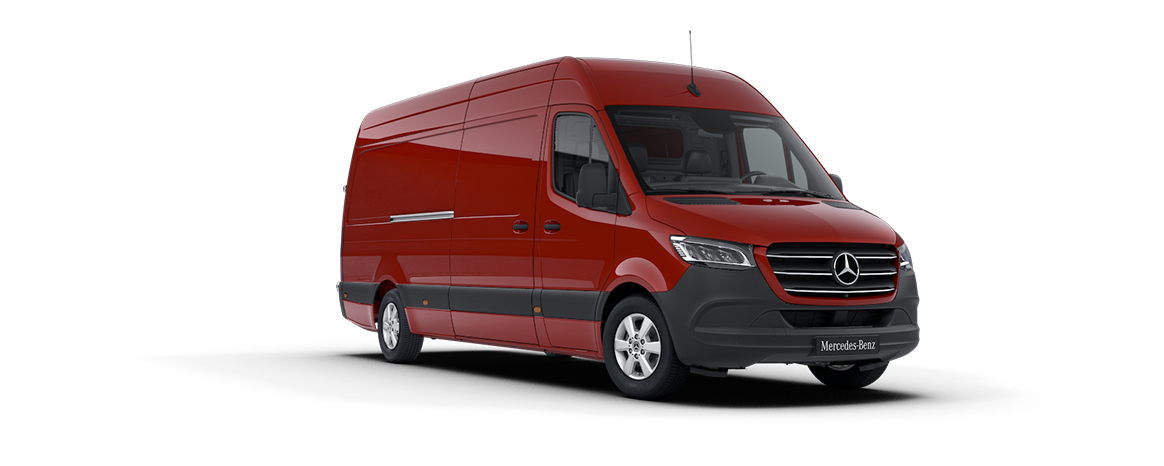 Sprinter Transfer Minibus, jupiter red