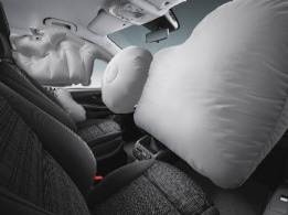 Valente, tourer commercial, safety, driver and co-driver airbag
