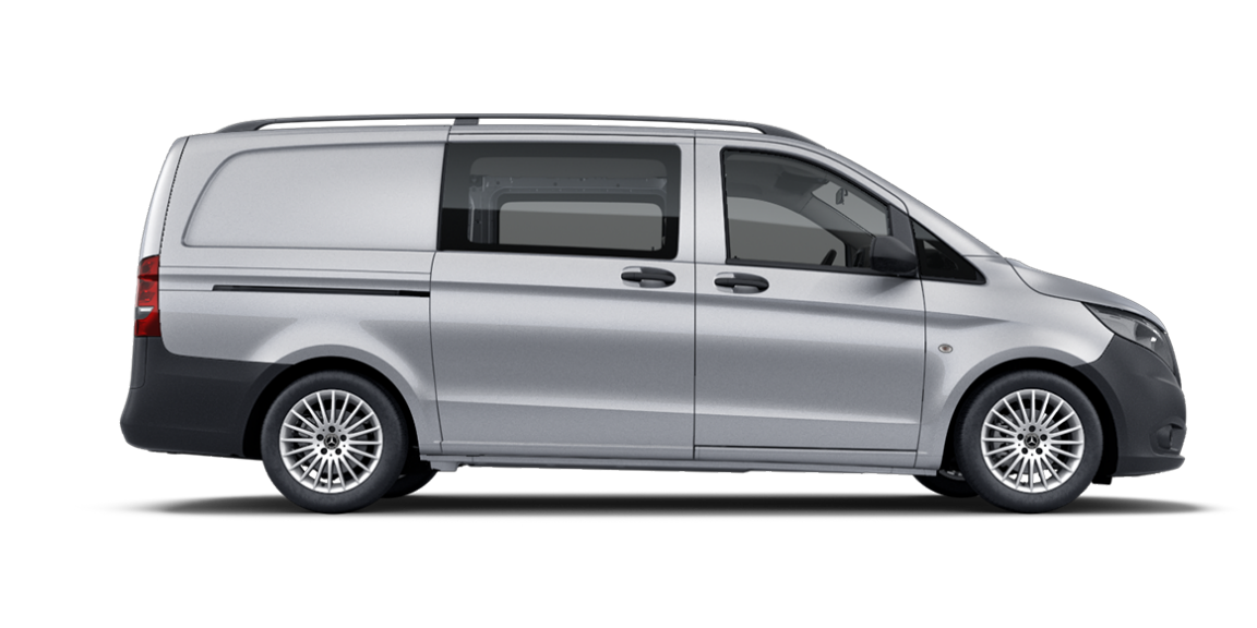 Vito Mixto, 3200 mm wheelbase, long overhang