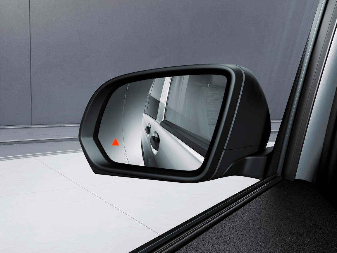 Vito crew cab, Mixto, equipment, Blind Spot Assist