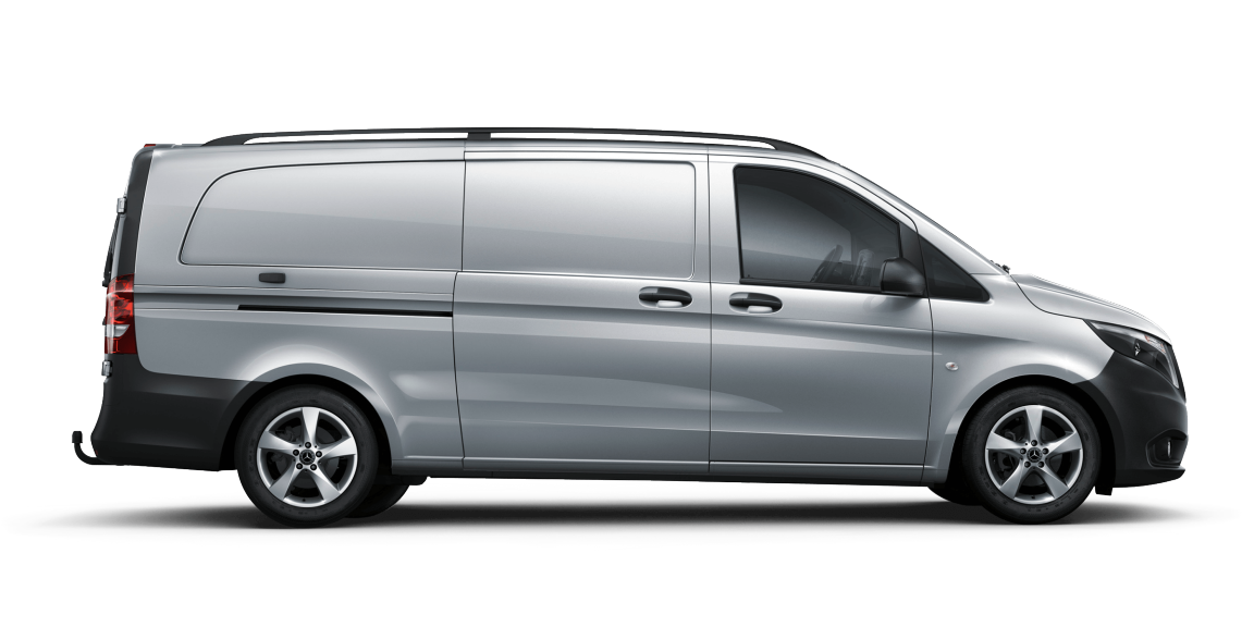 Vito panel van, body variants, normal, extra long, 3430 mm wheelbase, long overhang
