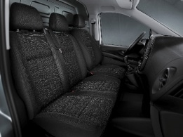 Vito Panel Van, two seat co-driver's seat