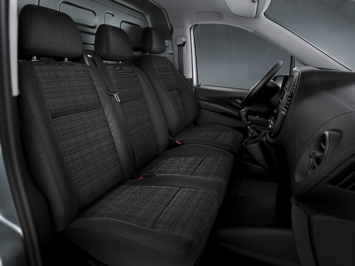 Vito panel van, two-seat co-driver's seat