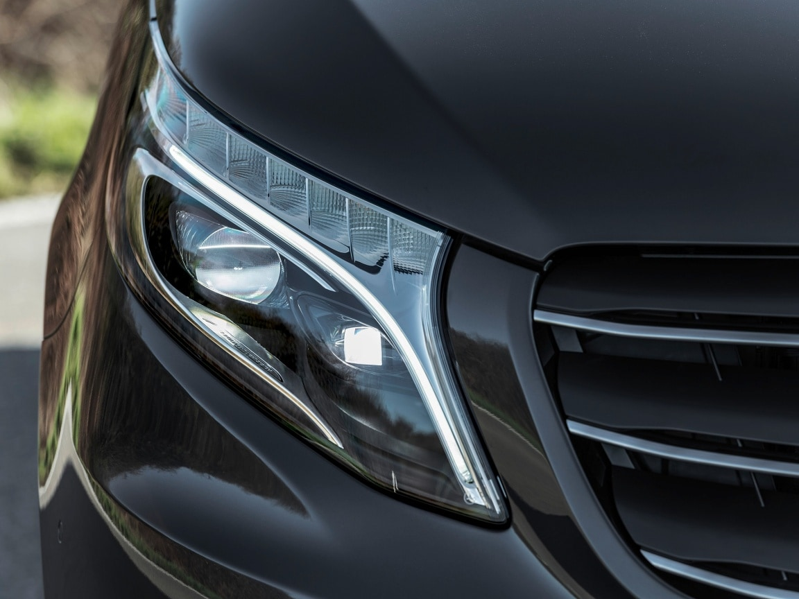 Vito panel van, LED Intelligent Light System