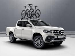 X-Class, Exterior equipment, Roof-mounted bicylce rack