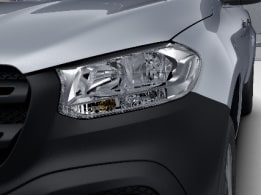 X-Class, PURE grade, headlamps with halogen technology