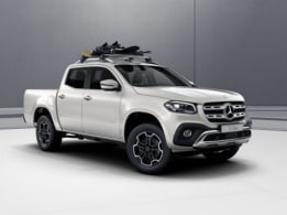 X-Class, Exterior equipment, Ski and snowboard rack