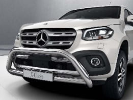 X-Class, Exterior equipment, Full-size spare wheel