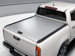 X-Class, silver anodised aluminium rollcover, POWER Line