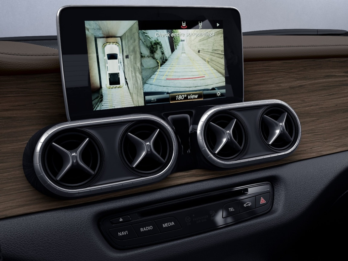 X-Class, POWER grade, Parking package with 360° camera